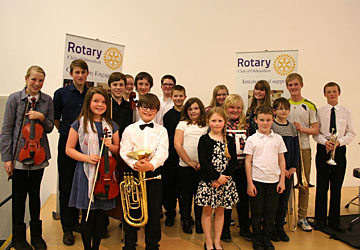 Entrants for Young Musician 2014