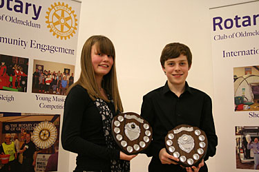 Winners of Young Musician Competition 2014